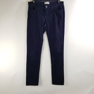 Madewell Courduroy Dark Blue Jeans Size 28 (A5)